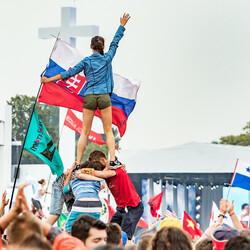 Červenec 28, SDM - přivítání Svatého otce, Krakow