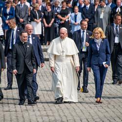 Červenec 29, SDM - Krakov, Papež v Osvětimi