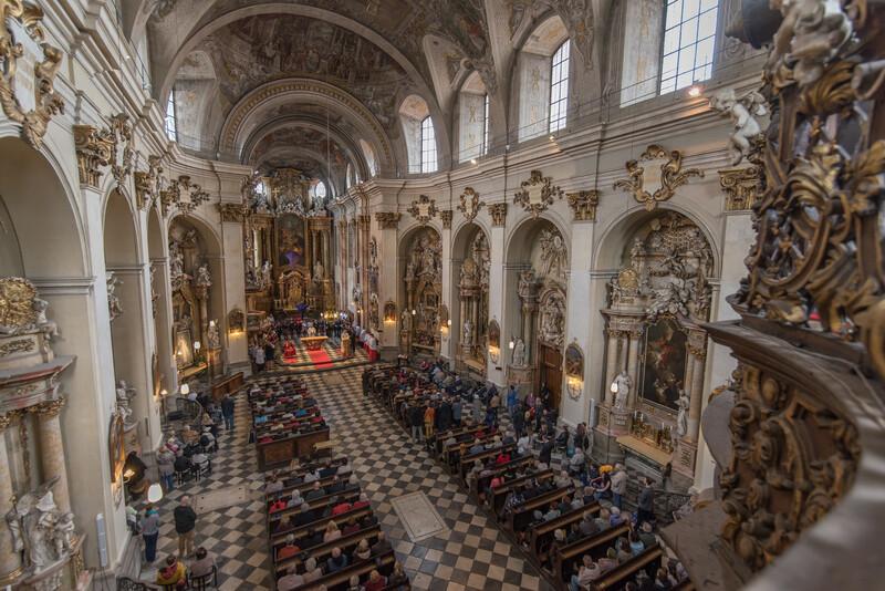 Wielki Piątek u Franciszkanów w Brnie